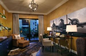 Marquesa Royale Study by Beasley & Henley Interior Design