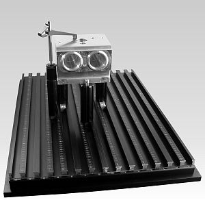CMM fixture for ABS valve body