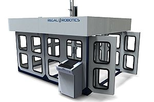 Rendering of the 500 Series 5-Axis Router