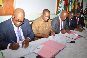 WAHO Signs Contract with Two West African Pharmaceutical Companies