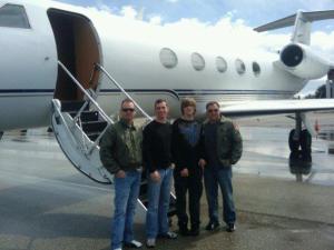 AeroGroup Gulfstream aircraft