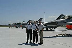 AeroGroup F-16 flight operations