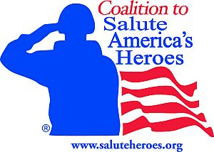 The Coalition to Salute America's Heroes is one of three charities supported by Rob Jones' Journey