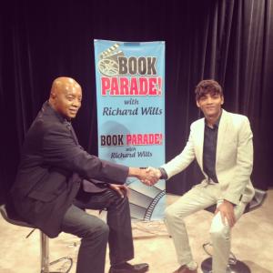 Book Parade TV Host Richard Wills & 21 Yr Old CEO, Novelist & Composer R.J. Tolson