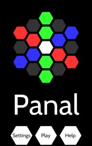 Panal Puzzle Main Screen