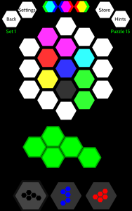 Panal Puzzle Play Screen 1