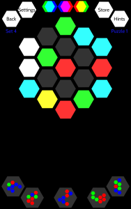 Panal Puzzle Play Screen 2