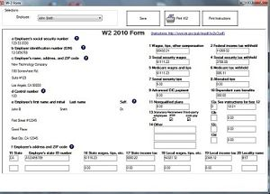 ezW2, W2 and 1099 software
