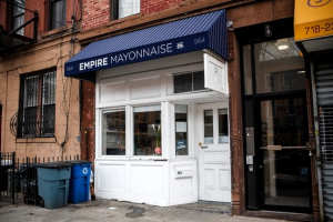 Earth's only mayonnaise store
