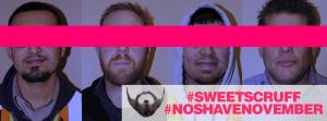 #SweetScruff #NoShaveNovember