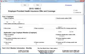 ez1095: 1095 & 1094 ACA Form Software