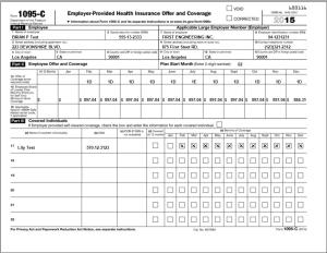 ez1095 software for ACA forms