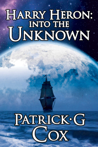 """""""Harry Heron: Into the Unknown"""" book cover"""