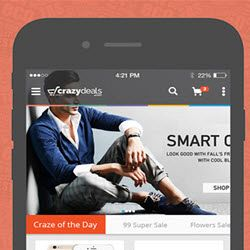 Crazydeals.com Android Mobile App