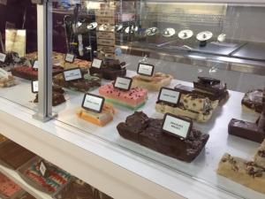 Fudge Counter at Sweet Tymes