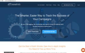 CampaignTrackly HomePage