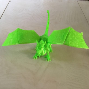 3D printed Dragon by Vets In 3D