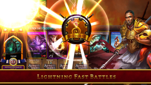 Fast-paced battles, perfect for players on the move