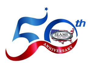 SEAMS 50th Anniversary Logo