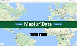 Frontpage of the www.mapurdata.com