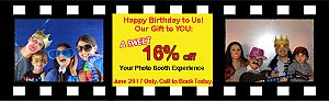 Anniversary Special - Sweet 16% Off Services