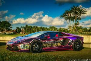 Lamborghini Aventador at Festivals of Speed