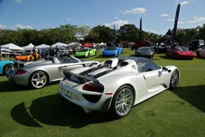Porsche 918 at Festivals of Speed Hallandale