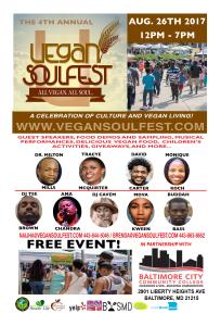 Vegan Soulfest Flyer