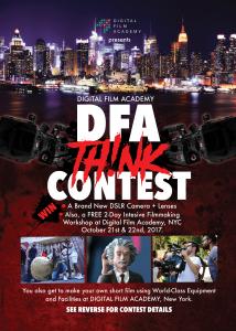 DFA Think Contest Flier (Front)