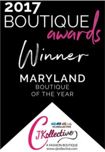 2017 Maryland Boutique of the Year Winner - CJKollective