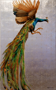 The Peacock by Michele Kortbawi Wilk