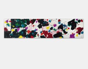 Sam Francis Canvas - Untitled (SFP80-75)