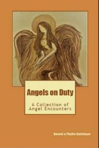 """""""Angels on Duty"""" Book Cover"""