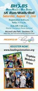 2018 Brain Health To Beat Stroke poster - Stockton, CA