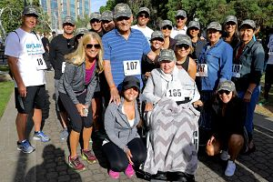 Ninos team at the 2017 Brain Health to Beat Stroke 5K