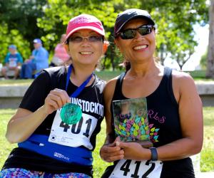 2017 Brain Health to Beat Stroke 5K winners - Stockton, CA
