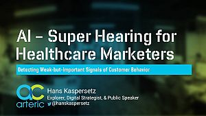Leveraging AI to Uncover Signals of Audience Behavior in Healthcare Marketing