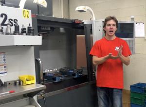 Launching a CNC Machining Business during his Summer Break