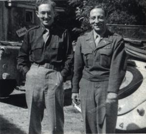 Henry Kissenger (on left), US 84th Infantry