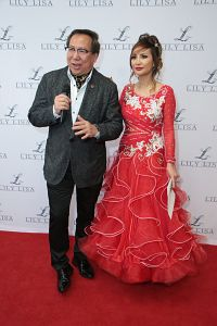 Lily Lisa with Chester Chong