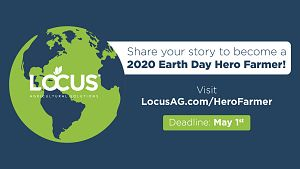 Locus AG 2020 Earth Day Hero Farmer