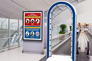 PreLynx Portal anywhere in an airport