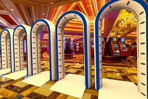 PreLynx Portal at the entrance of a Casino