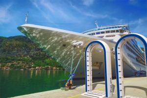 PreLynx Portal before boarding a CruiseShip