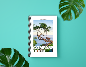Each Compass Book is designed with a beautiful travel theme.
