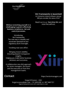 Xiir One-Click-Oversight flyer