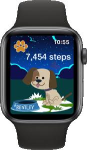 Puppy Walk on Apple Watch