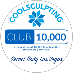 Awarded Club 10,000 in recognition for performing over 10,000 Coolsculpting Treatments