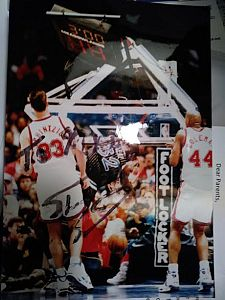 Shaq Breaks the Backboard at the arena