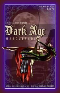 Dark Age Masquerade Poster